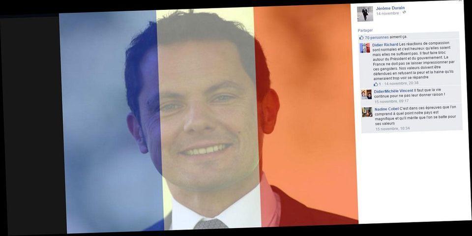 """Pour un candidat PS aux régionales, """"quand on affiche le drapeau bleu-blanc-rouge sur son profil Facebook, cela implique aussi la cohérence de son vote"""""""