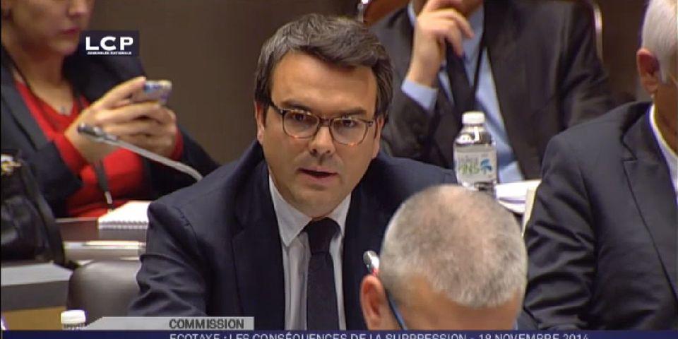 Première intervention de Thomas Thévenoud en commission depuis son retour à l'Assemblée