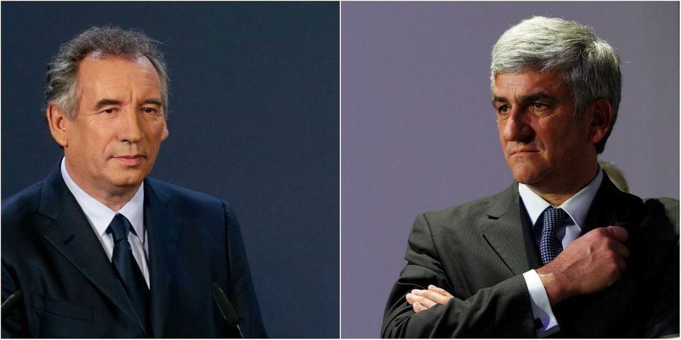 François Bayrou a consolé Hervé Morin après sa défaite à la présidence de l'UDI