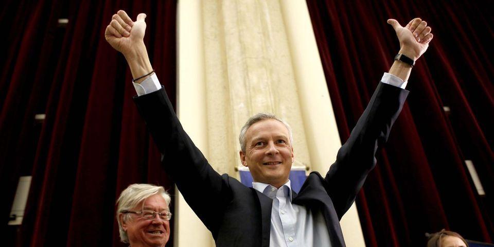 """Présidence de l'UMP : Bruno Le Maire """"pense faire plus de 50%"""""""