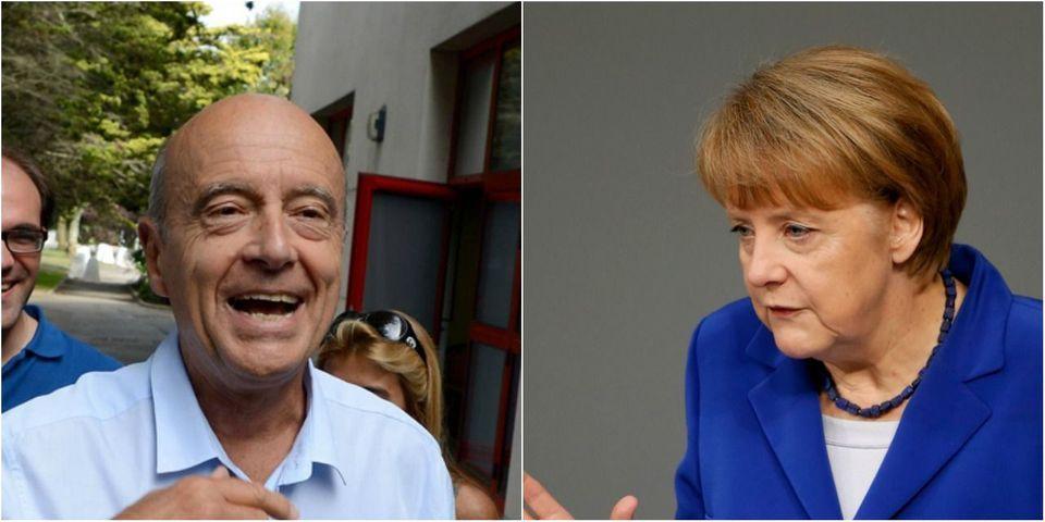 Présidentielle 2017 : Berlin dément préférer Alain Juppé à Nicolas Sarkozy
