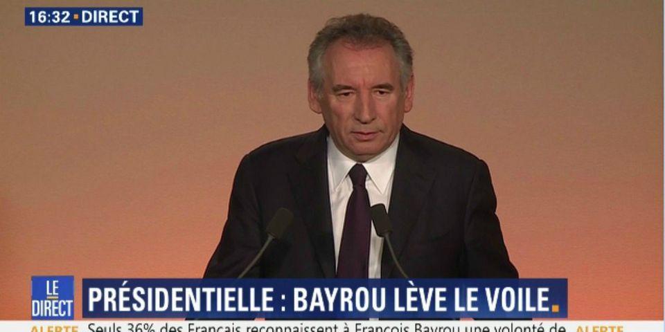 Présidentielle : finalement, François Bayrou propose une alliance avec Emmanuel Macron