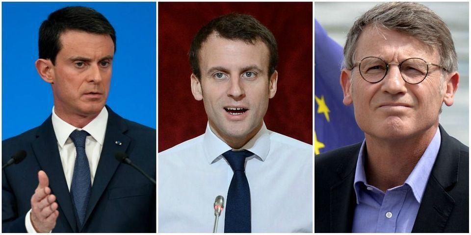 """Présidentielle : les """"hollandais"""" éparpillés entre Macron, Valls et Peillon"""