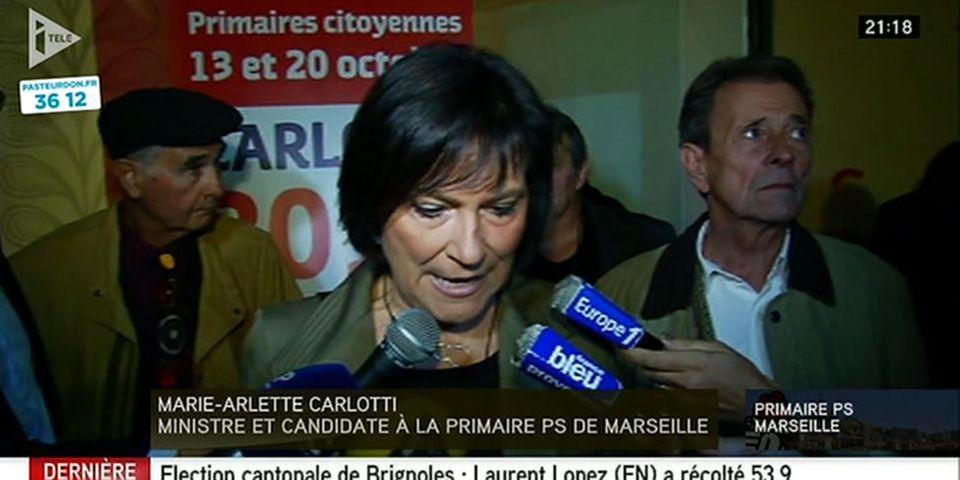"""Primaire socialiste à Marseille: Marie-Arlette Carlotti dénonce un """"fonctionnement à plein régime du clientélisme"""""""