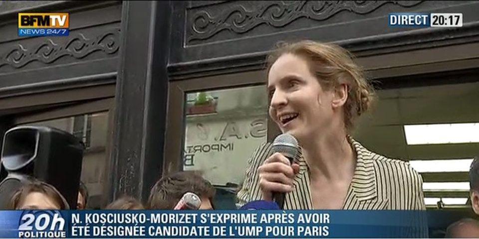 Primaire UMP : Nathalie Kosciusko-Morizet désignée candidate