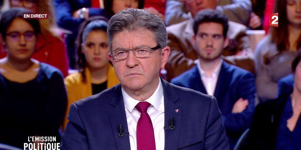 """""""Propos indignes, brutaux, sexistes"""" : La guerre est déclarée entre Jean-Luc Mélenchon et France 2"""
