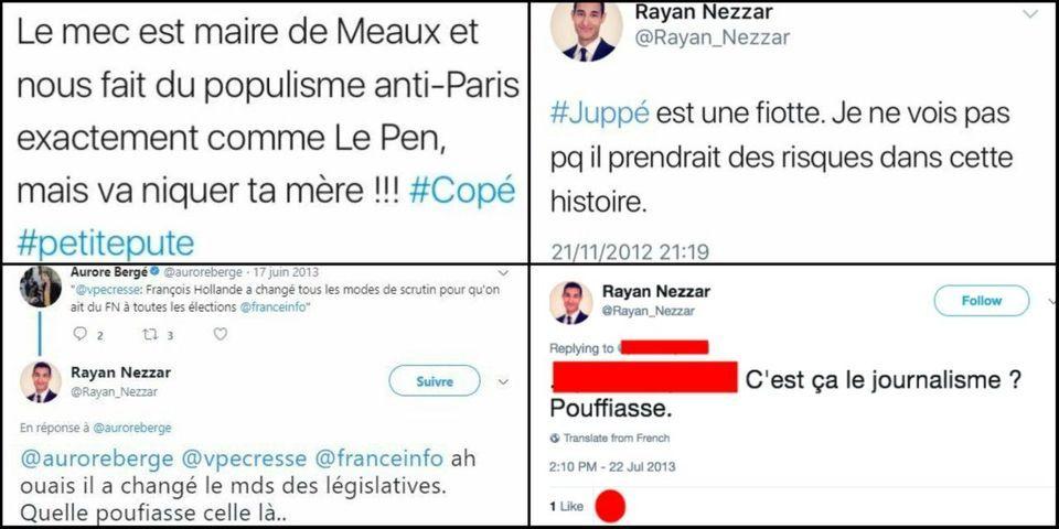 """""""Pute"""", """"fiotte"""", """"pouffiasse"""" : quand le nouveau porte-parole de LREM insultait Copé, Le Pen, Juppé et une journaliste"""