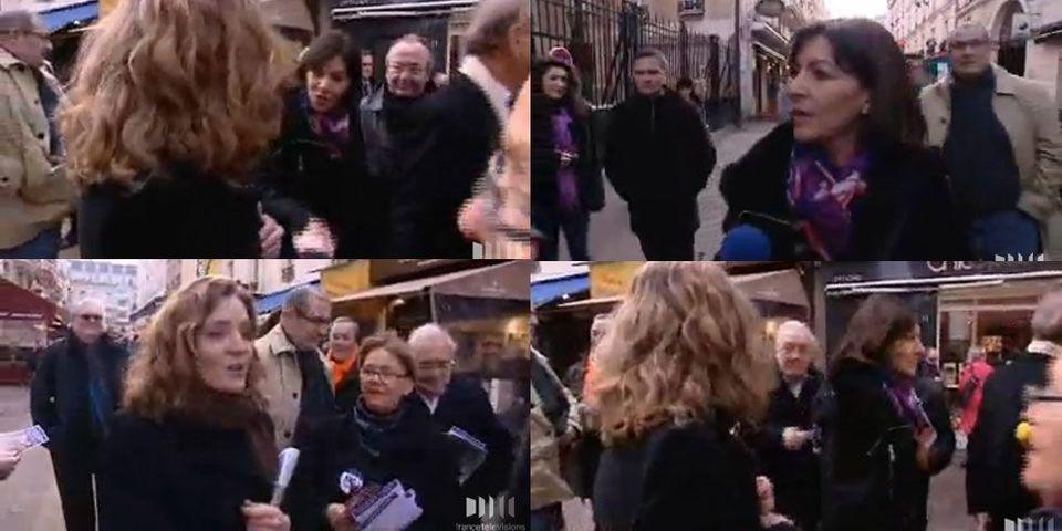 Quand Anne Hidalgo et Nathalie Kosciusko-Morizet se croisent dans Paris