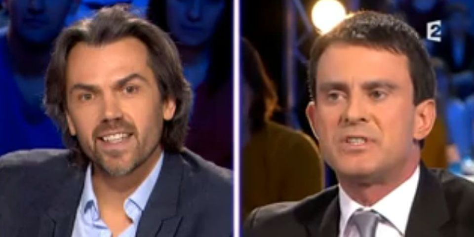 Quand Aymeric Caron interroge Manuel Valls sur ses amis Stéphane Fouks et Alain Bauer