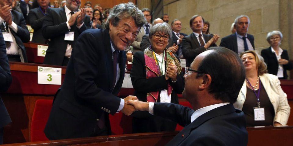 Quand Borloo et Hollande se caressent dans le sens du poil