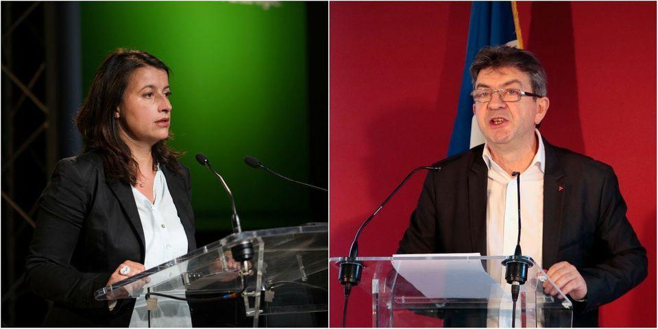 Quand Cécile Duflot critique Jean-Luc Mélenchon tout en reprenant ses mots pour... critiquer Valls