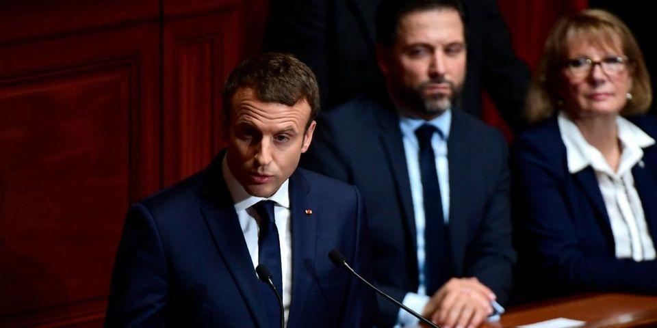 """L'Élysée modifie le discours de Macron au Congrès dans sa version écrite pour censurer """"conchier"""""""