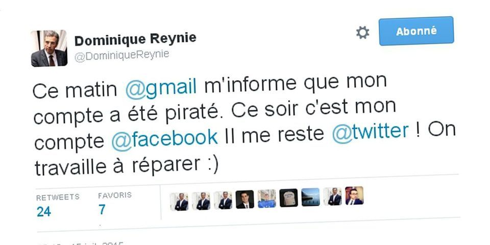 Quand Dominique Reynié raconte ses problèmes de sécurité informatique