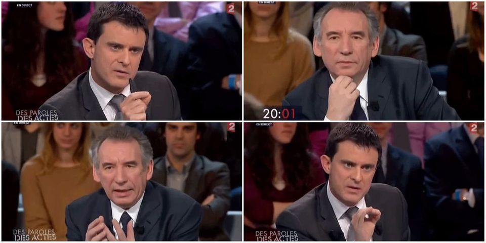 Quand François Bayrou et Manuel Valls s'avouaient leur respect réciproque
