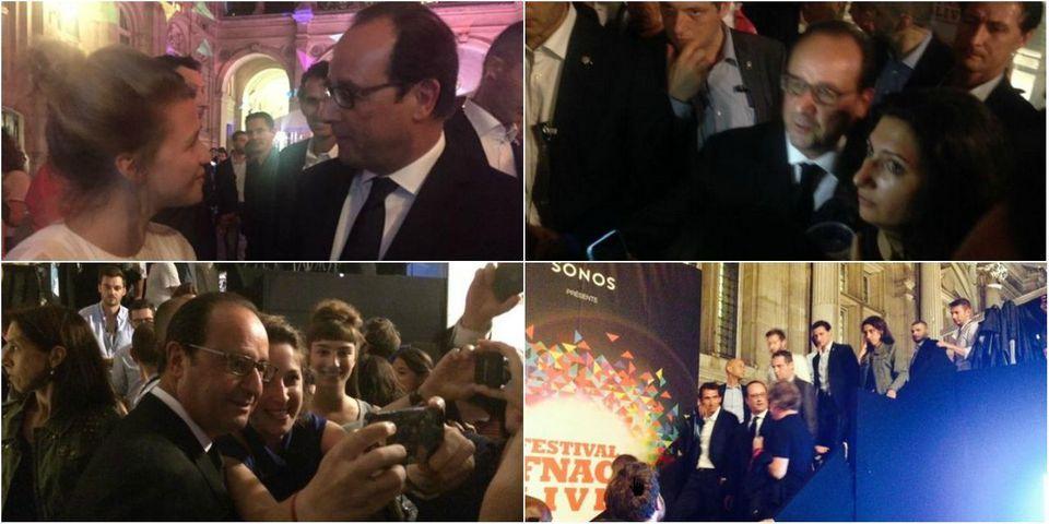 Quand François Hollande déboule sans prévenir au concert de Christine and The Queens