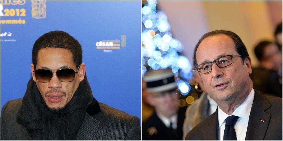 Quand François Hollande dîne avec Joey Starr à l'Élysée