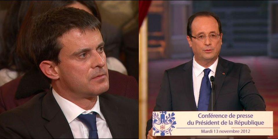 Quand François Hollande rappelle à l'ordre Manuel Valls