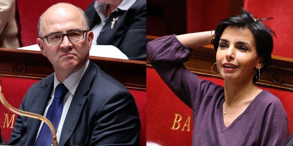 Quand Gilles Carrez compare l'attitude de Pierre Moscovici à celle de Rachida Dati lors des débats parlementaires