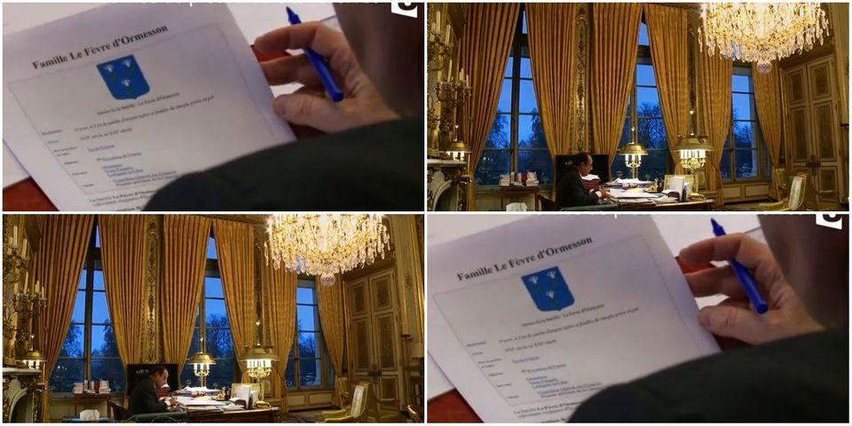 Quand Hollande s'inspire de Wikipédia pour réaliser son discours en l'honneur de Jean d'Ormesson