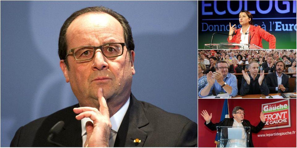 """Quand Hollande surnomme Duflot, Mélenchon et les frondeurs le """"club du 21 avril"""""""