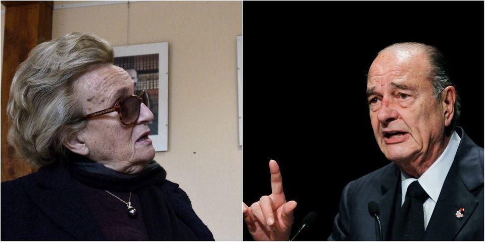 """Quand Jacques Chirac """"n'est pas content"""", il donne """"un petit coup de canne sur le pied"""" de Bernadette"""