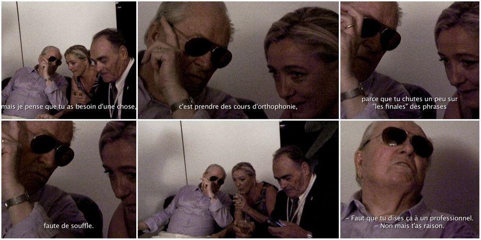 Quand Jean-Marie Le Pen suggérait à Marine Le Pen d'aller chez l'orthophoniste