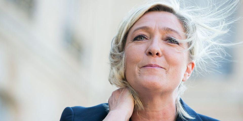 Quand la présidente du Front national Marine Le Pen se compare au général de Gaulle