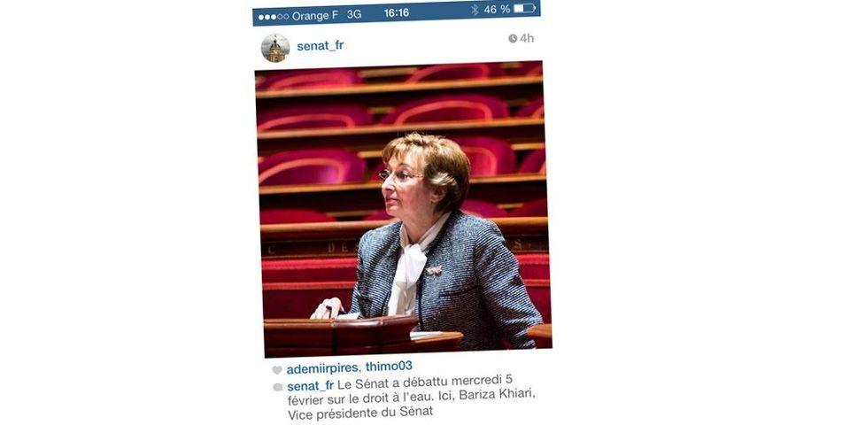Quand le Sénat ne reconnaît pas la ministre Anne-Marie Escoffier