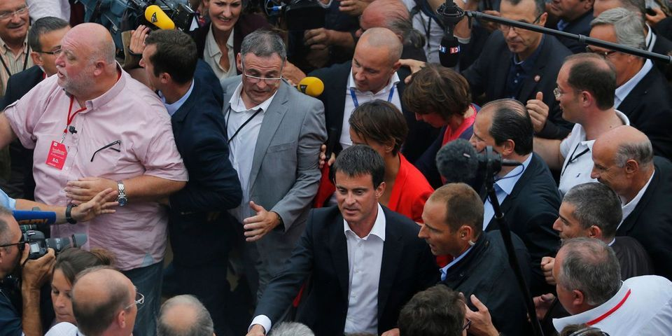 Quand le service d'ordre du PS à La Rochelle menace de ne pas s'occuper de la sécurité de Manuel Valls