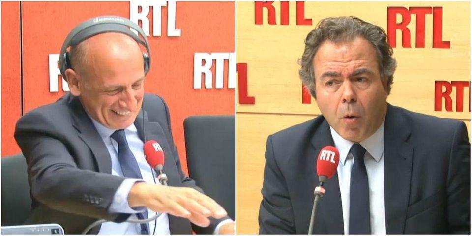 """Quand Luc Chatel parle un peu trop vite et affirme que François Hollande """"a initié la crise économique"""""""