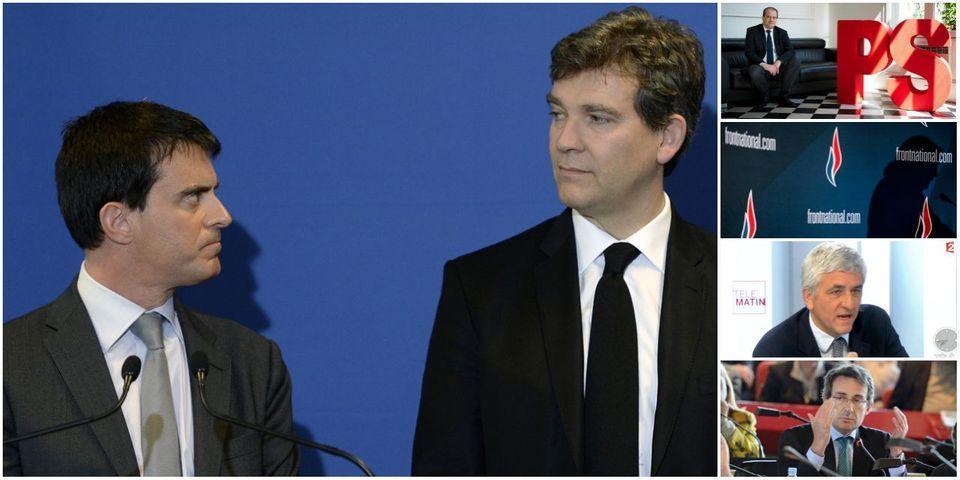 Quand Manuel Valls remet Arnaud Montebourg à sa place en 3 scuds, sujet le moins lu de la semaine