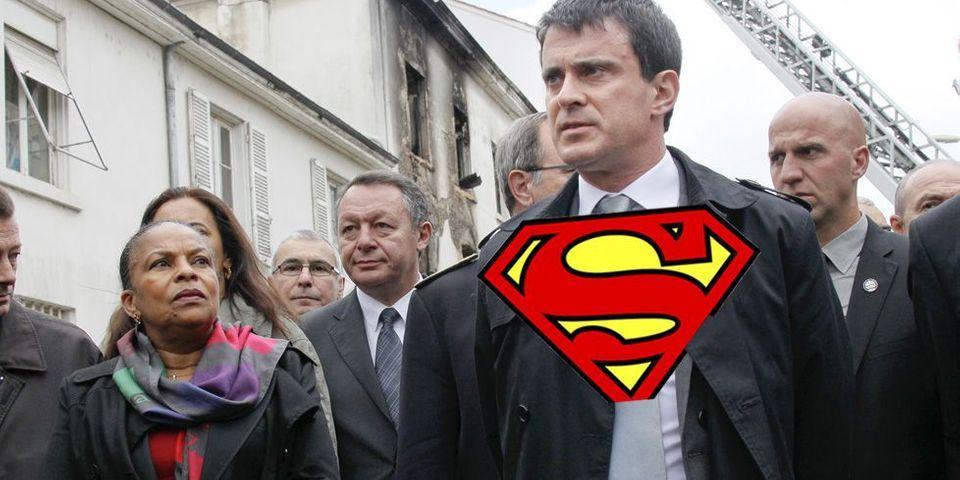 Quand Manuel Valls se compare à Superman et Spiderman