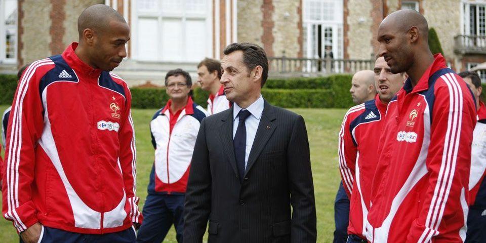 Quand Nicolas Sarkozy et Thierry Henry parlaient femmes