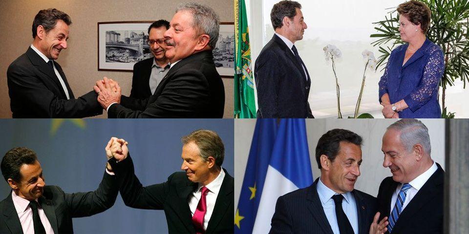 Quand Nicolas Sarkozy fait connaitre ses rendez-vous entre chefs d'Etat