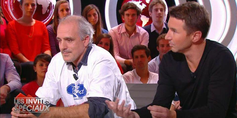 Quand Olivier Besancenot et Philippe Poutou tractent sur le plateau du Petit journal