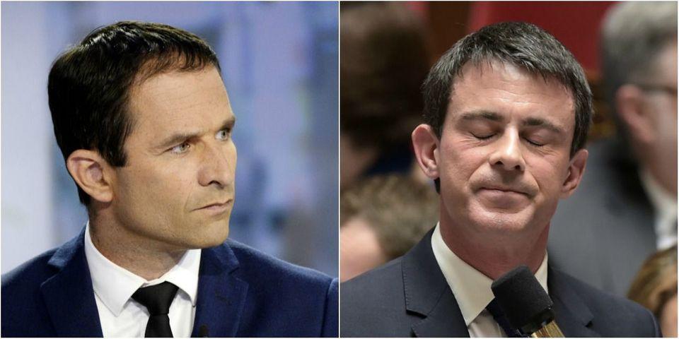 Quelques minutes après l'annonce de François Hollande de ne pas se représenter, Benoît Hamon s'en prend à Manuel Valls