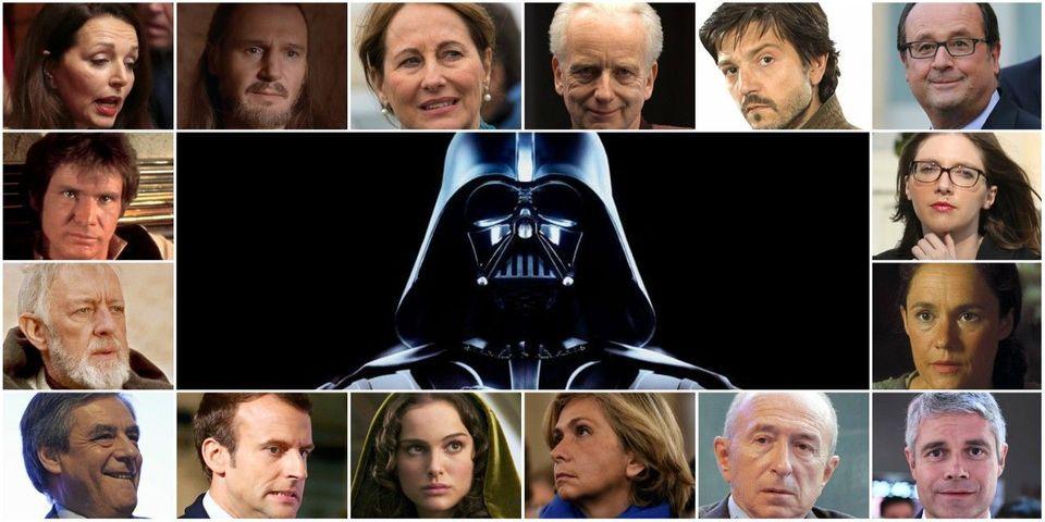 Qui l'a dit : un politique ou un personnage de Star Wars ?