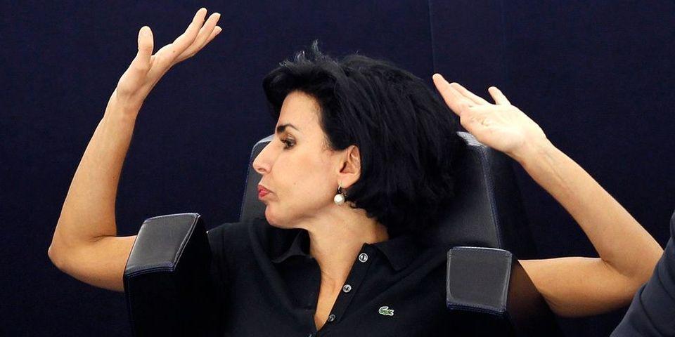 Rachida Dati recadrée par mail avec tous les eurodéputés en copie