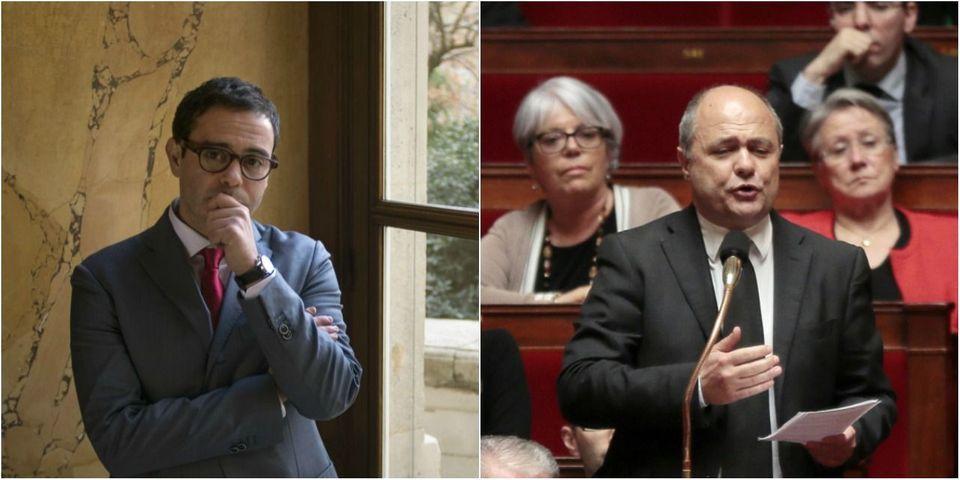"""Razzy Hammadi et Bruno Le Roux veulent interdire aux députés socialistes de voter """"contre"""" les textes du gouvernement"""