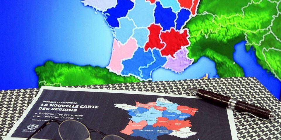 Réforme territoriale : le Sénat adopte une nouvelle carte de 15 régions