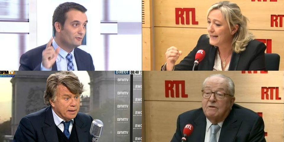 Respect de la vie privée de François Hollande : la ligne de conduite de Marine Le Pen est-elle suivie au Front national ?