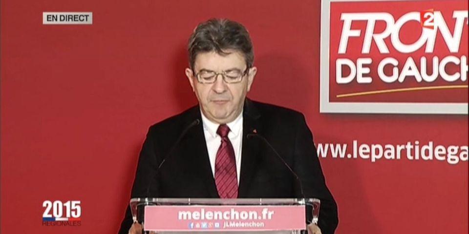 Résultats régionales : Jean-Luc Mélenchon demande la démission de Manuel Valls