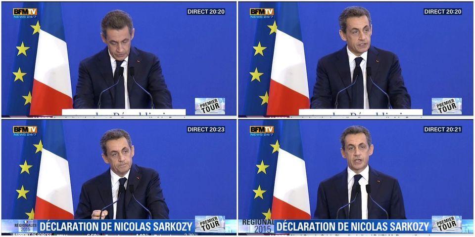 """Résultats régionales : Nicolas Sarkozy refuse """"toute fusion"""" ou """"tout retrait de liste"""""""