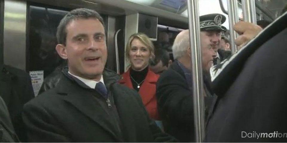 Réveillon de la Saint-Sylvestre : Manuel Valls, le métro et les pickpockets