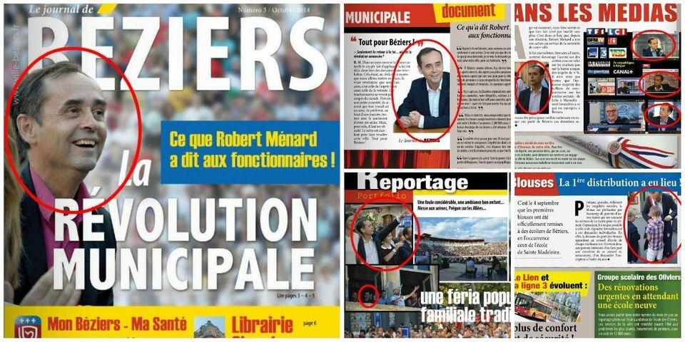 #RobertMénardPartout dans le journal municipal de Béziers