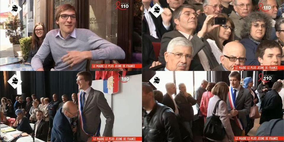 """Robin Reda, plus jeune maire de France et déjà """"l'étoffe d'un chef d'Etat"""" selon... sa mère"""