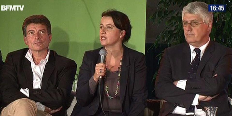 """Roms: Cécile Duflot estime que Manuel Valls va """"au-delà de ce qui met en danger le pacte républicain"""""""