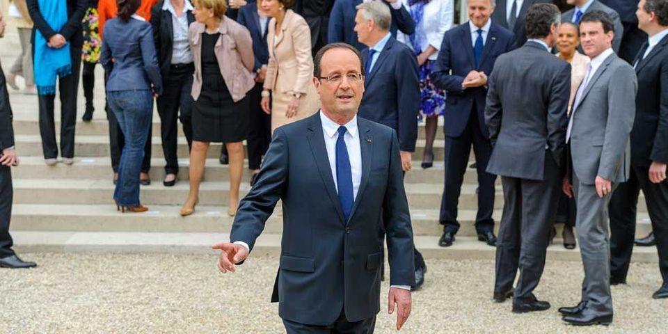"""Roms : François Hollande rappelle ses ministres à leurs """"responsabilités"""" sans viser personne"""