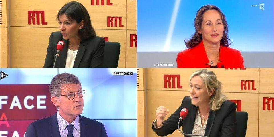 Royal, Peillon, Hidalgo, Marine Le Pen: le multiplex politique du dimanche 13 octobre
