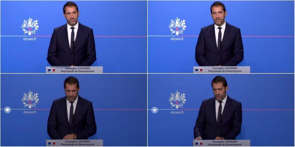 """Emmanuel Macron """"ne recadre pas"""" ses ministres, il """"dit ce qu'il pense"""", assure Christophe Castaner"""